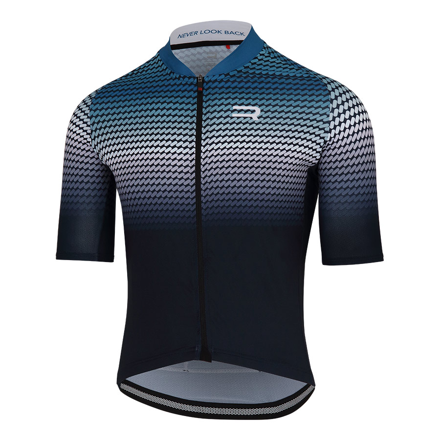 Maillot Finisseur Core Recycled fading azul oscuro